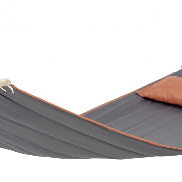 American Dream Grey Hammock with Spreader Bar