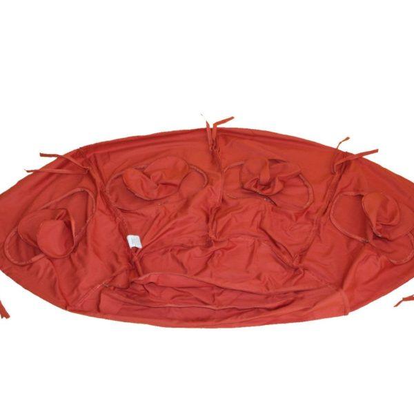 Globo terracotta cushion cover