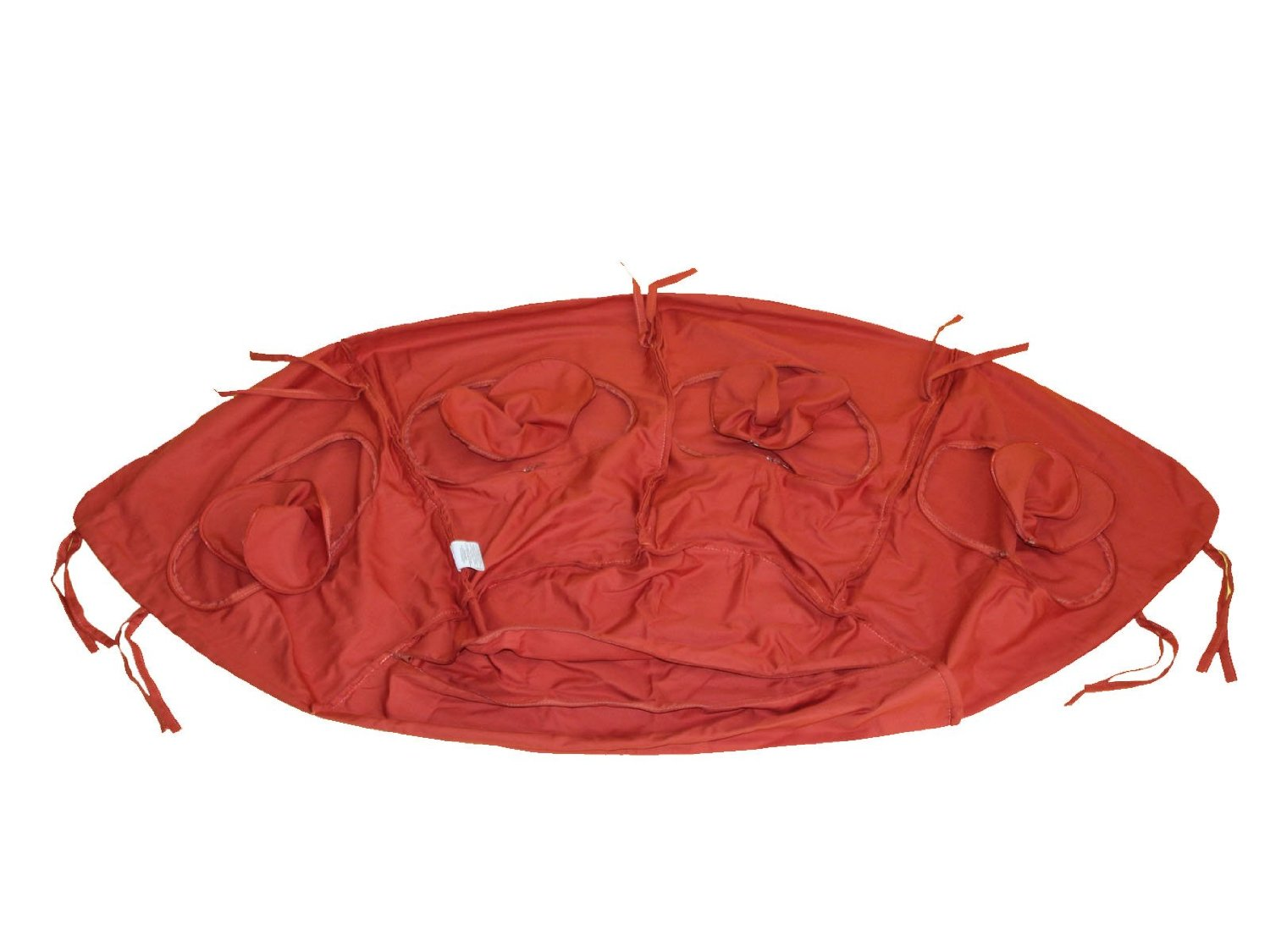 Globo terracotta cushion cover
