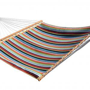 Sunbrella Quilted Hammock - Double (Carousel Confetti)