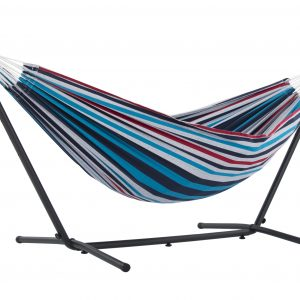 Double Denim Hammock with Stand (8ft)
