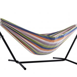 Double Pumpkin Spice Hammock with Stand (8ft)