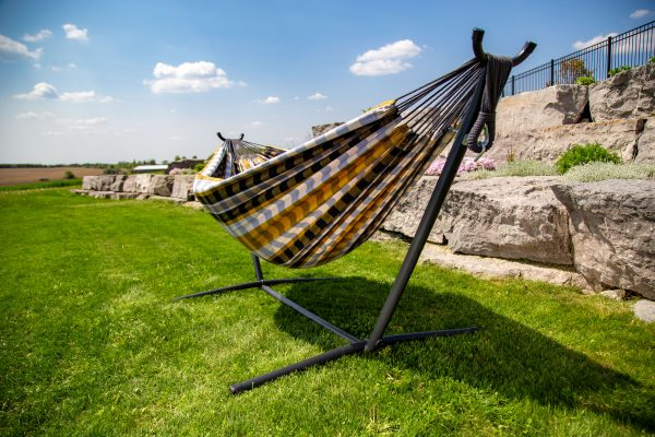 Double Gold Coast Hammock with Stand (8ft)