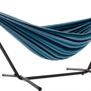Double Blue Lagoon Hammock with Stand (8ft)