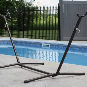 Universal Hammock Stand - Oil Rubbed Bronze (8ft)
