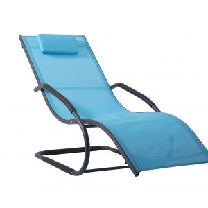Wave lounger ocean blue