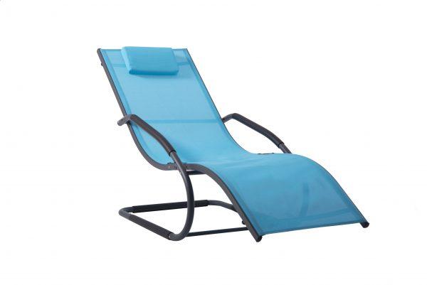 Wave lounger ocean blue