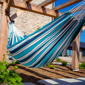 Brazilian Sunbrella Double Hammock - Token Surfside