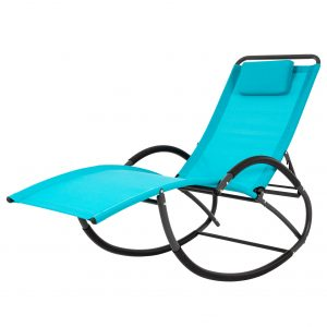Wave Laze Chair - Steel - True Turquoise
