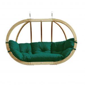 Globo Royal double hanging chair verde